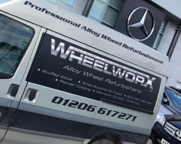WheelWorx Refinishing Van